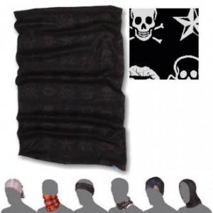 Multifunkční šátek Sensor Tube Skulls černá