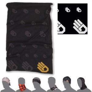 Multifunkční šátek Sensor Tube Thermo Ruka černá