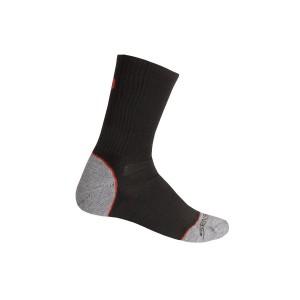 Ponožky Sensor Hiking Bambus černá s červenou