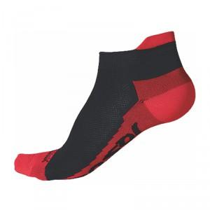 Ponožky Sensor Race Coolmax černá s červenou