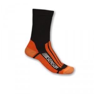 Ponožky Sensor Treking Evolution oranžová