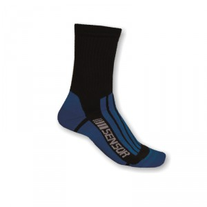 Ponožky Sensor Treking Evolution modrá