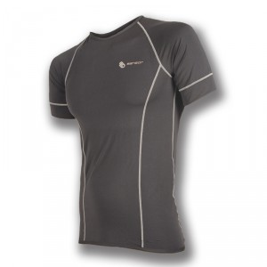 Pánské triko Sensor Coolmax Fresh kr.rukáv černá