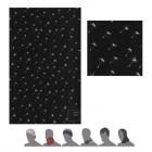 Multifunkční šátek Sensor Tube Pattern černá